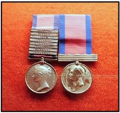Medals awarded to Henry Forster