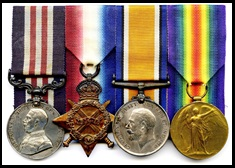 Medals Awarded to Frederick Maxwell Veness